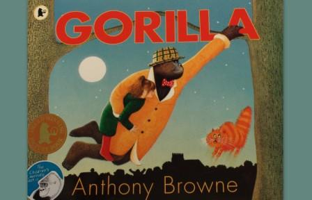 Book cover of Gorilla by Anthony Browne