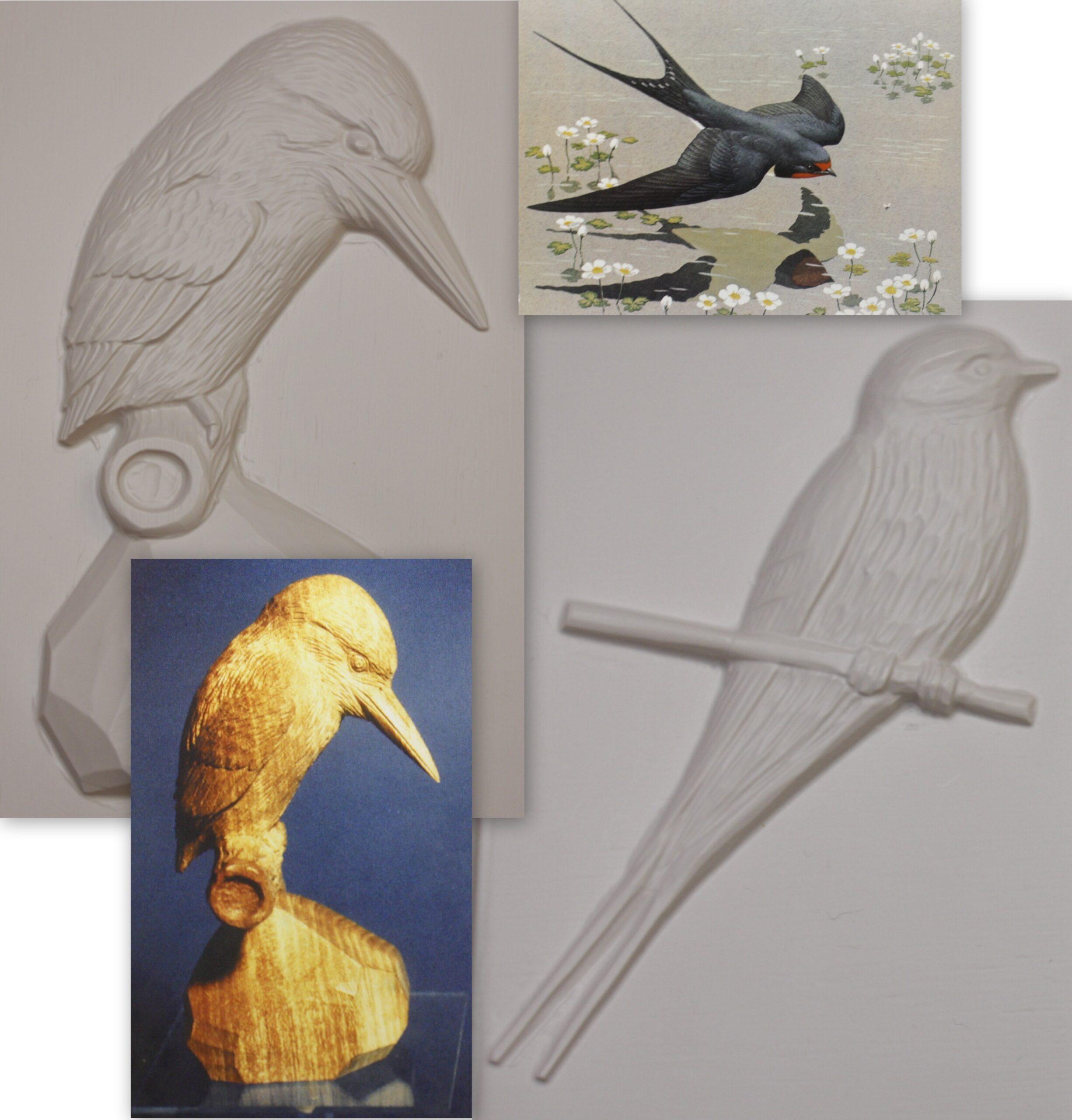 Album 17 British Birds by Living Paintings