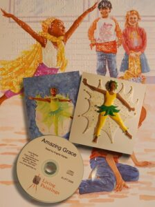 Amazing Grace book and tactile images with CD.
