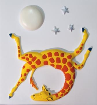 Tactile picture from Giraffes Can't Dance