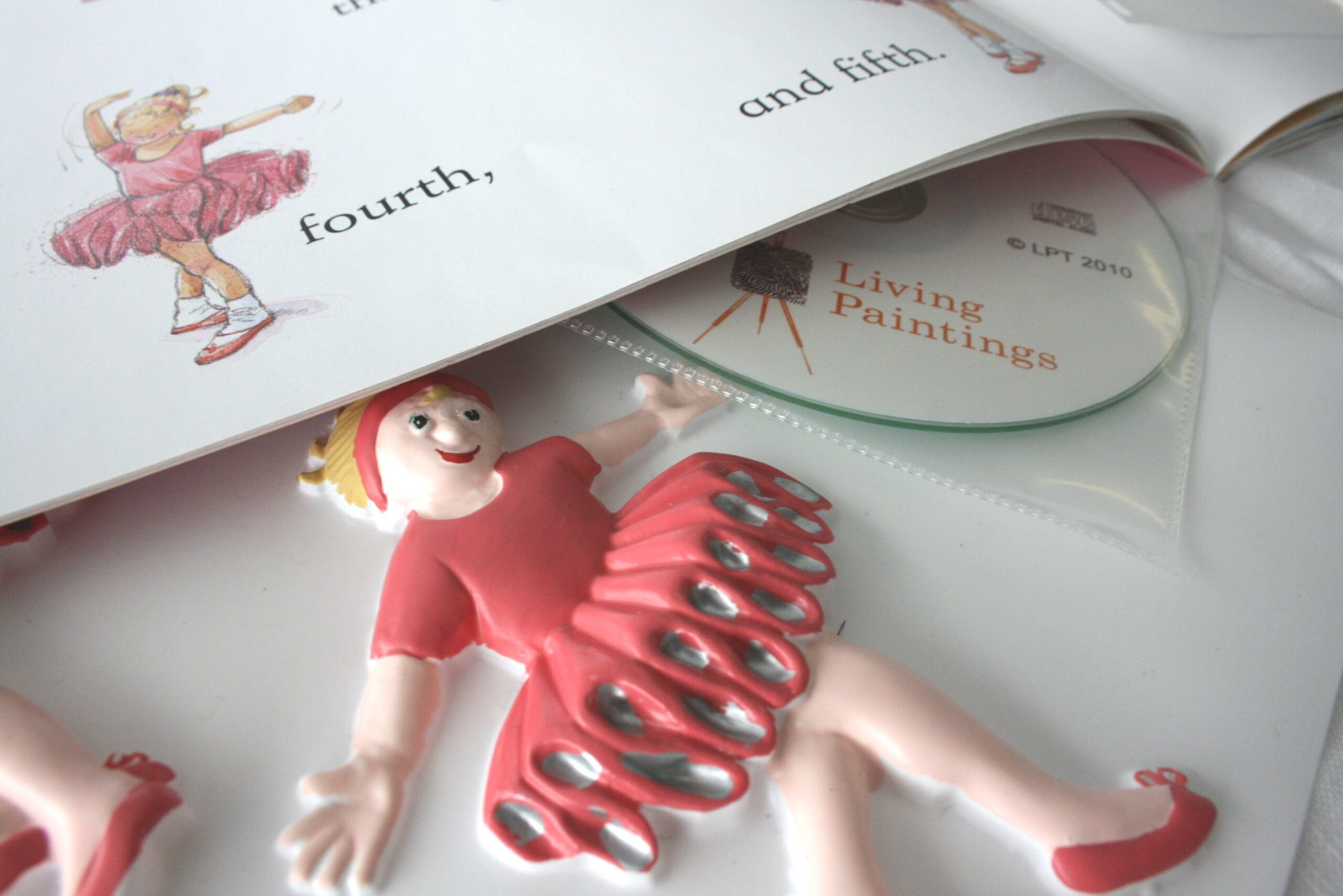 Tactile and book of The Ballet Class