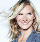 Jo Whiley, head shot of woman with flowing blonde hair