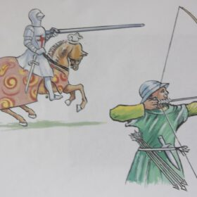 Weapons used in Tudor Times from the image pack