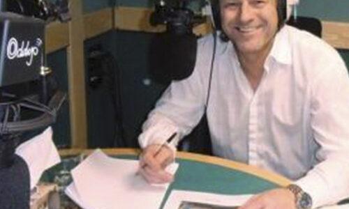 Sean Bean in the studio for Living Paintings