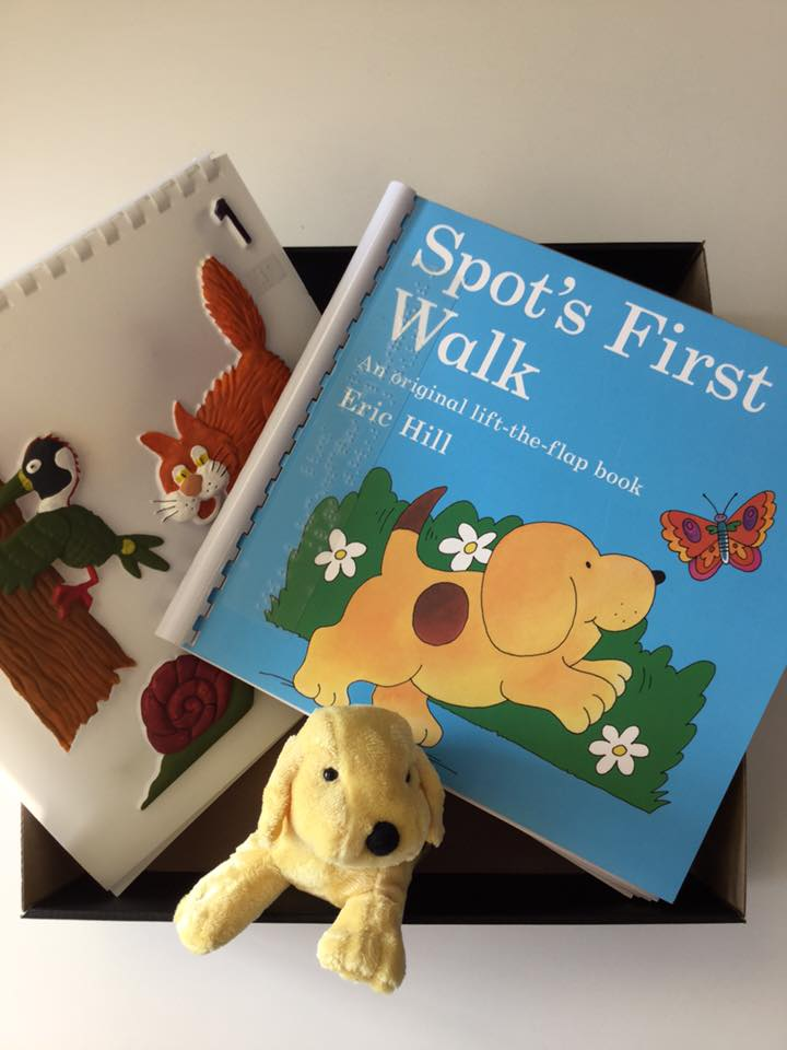 The World Around Us with Spot resource with book, and feely picture pack.