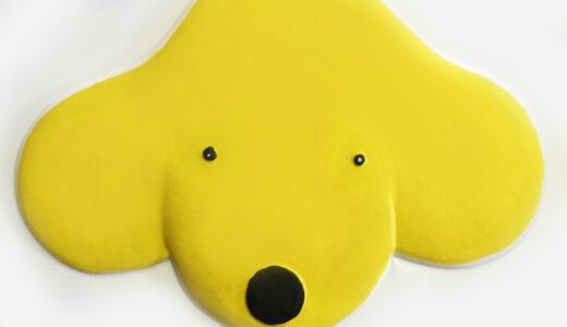 Spots face tactile picture.