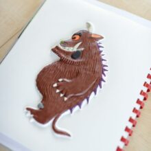 The Gruffalo tactile picture