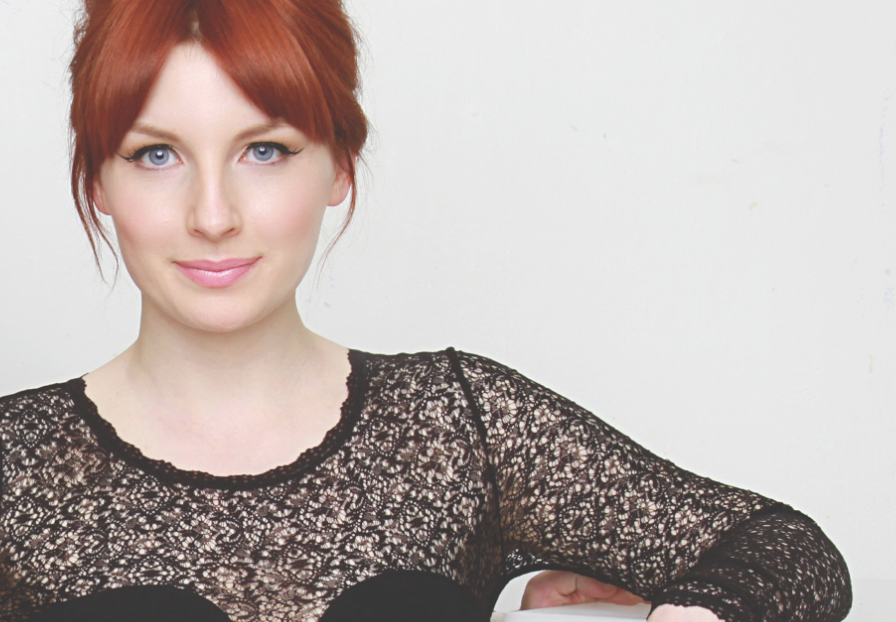 BBC Radio 1 DJ Alice Levine who voiced the audio guide for our latest tactile book for blind children