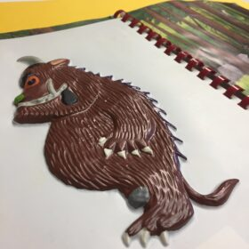 A tactile picture of the Gruffalo