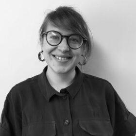 Jane Findlay black and white portrait photo