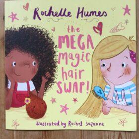 The Mega Magic Magic Hair swap book cover.