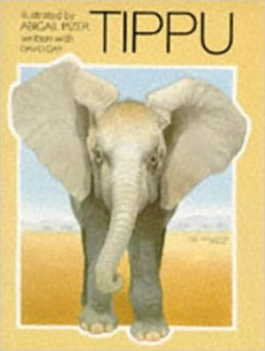 Tippu written by David Day and illustrated by Abigail Pizer. An elephant standing in a desert.