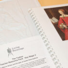 Pack shot of guidance notes booklet, tactile and printed image of Queen Elizabeth I